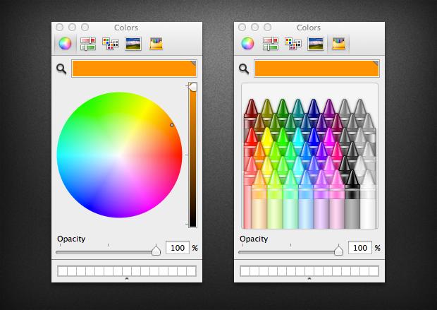 Ottenere i colori